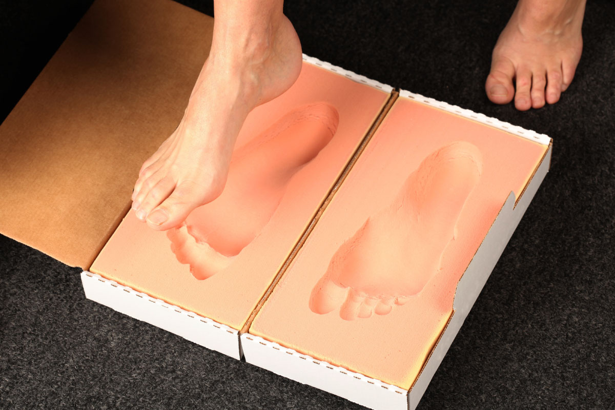 Orthotics mold